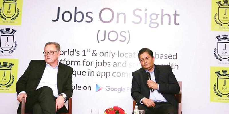 Avinash sondhi - JOS app - India's leading Location based Job search Platform